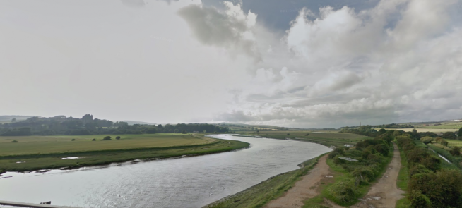 The River Adur and path