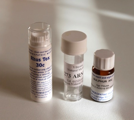 homeopathic remedies I have taken (and they worked)